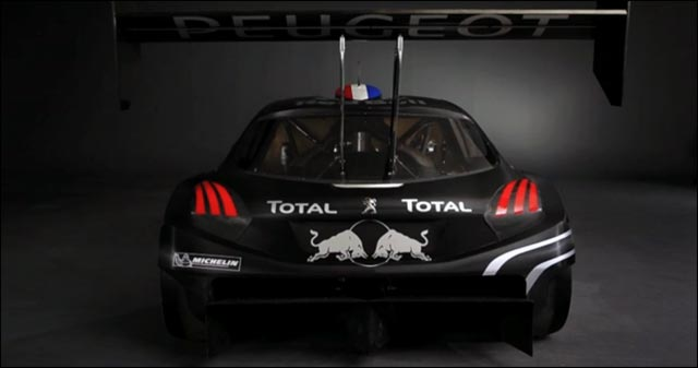 photo Peugeot 208 T16 Pikes Peak arriere