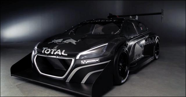 photo Peugeot 208 T16 Pikes Peak avant