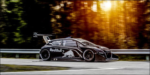 Peugeot 208 T16 Pikes Peak jolie photo