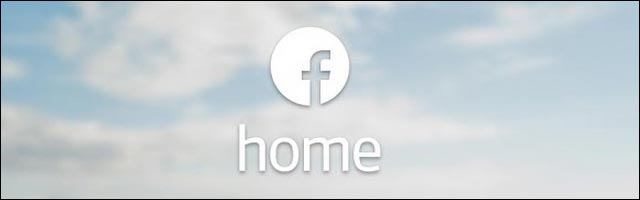 application Facebook Home lancement rate