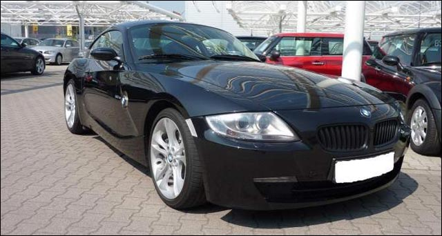 BMW Z4 coupe 3litres si 265ch pack M