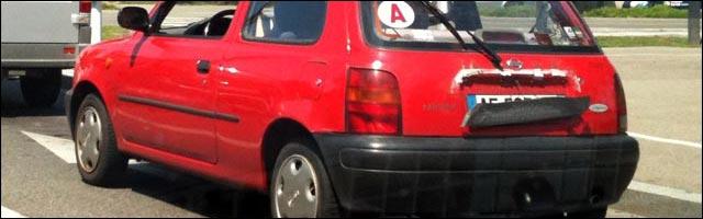 plaque mineralogique cachee sur voiture astuce anti radar