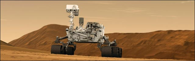 robot sonde Curiosity planete Mars timelapse video hd NASA