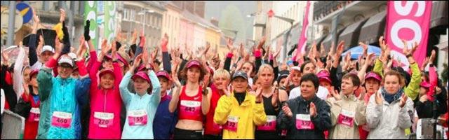 course pour femmes Run Attitude 2013 Gerardmer Vosges