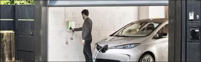 voiture electrique prise