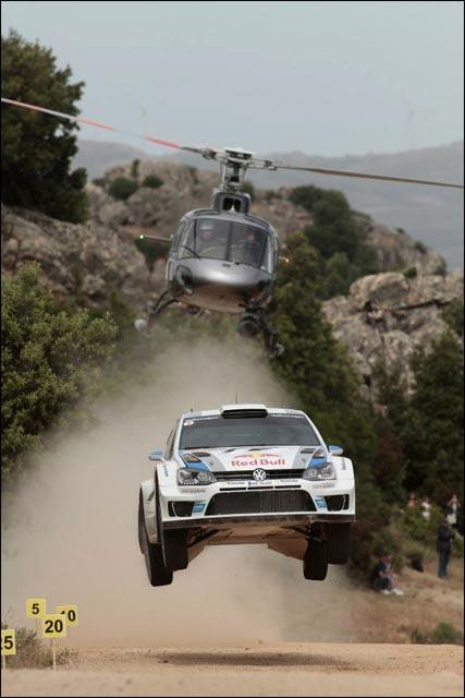 photo VW Polo Sebastien Ogier WRC rallye Italie Sardaigne