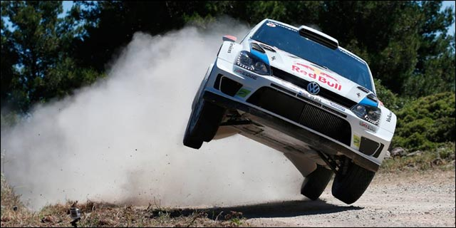 photo VW Polo WRC rallye Italie Sardaigne