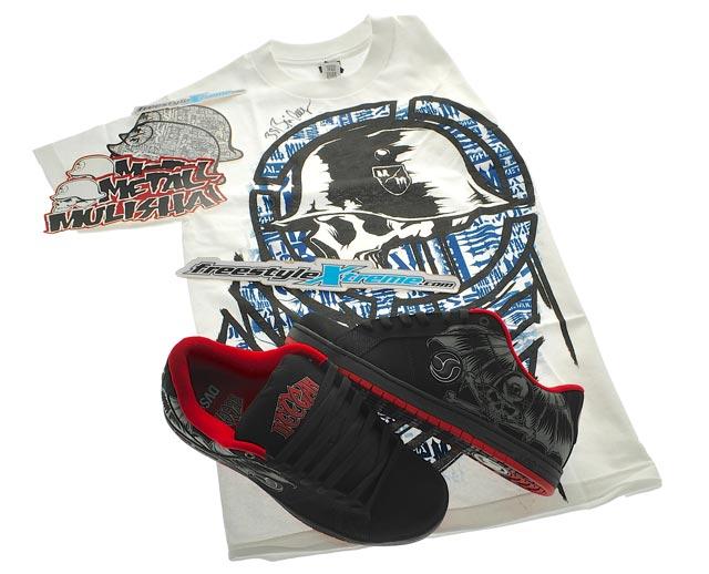 concours Metal Mulisha shoes DVS