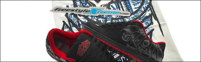 FreestyleXtreme concours Metal Mulisha shoes DVS