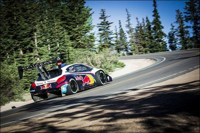 Sebastien Loeb Peugeot 208 T16 Pikes Peak