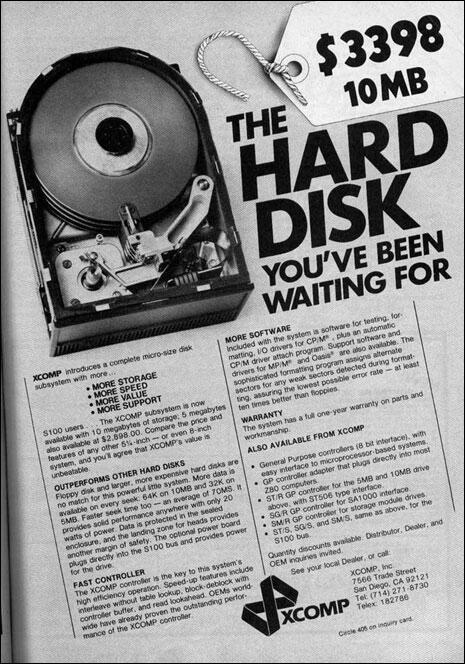 HDD disque dur 10Mo