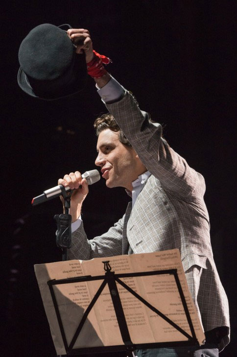 photo video concert Mika Colmar 2013