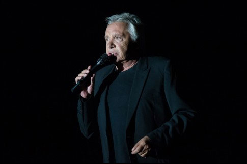 photo concert Michel Sardou Foire Vins Colmar 2013