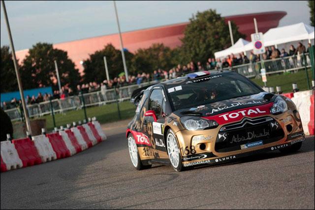 Sebastien Loeb Rallye France 2013 WRC