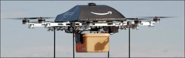 livraison colis drone Amazon