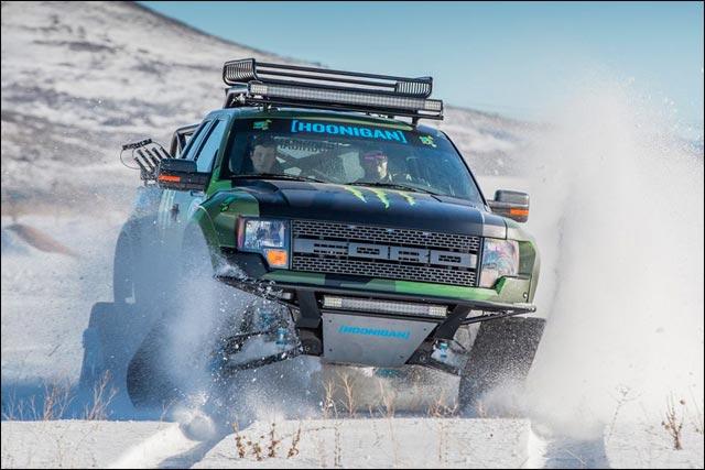 Ken Block 4x4 neige (2)