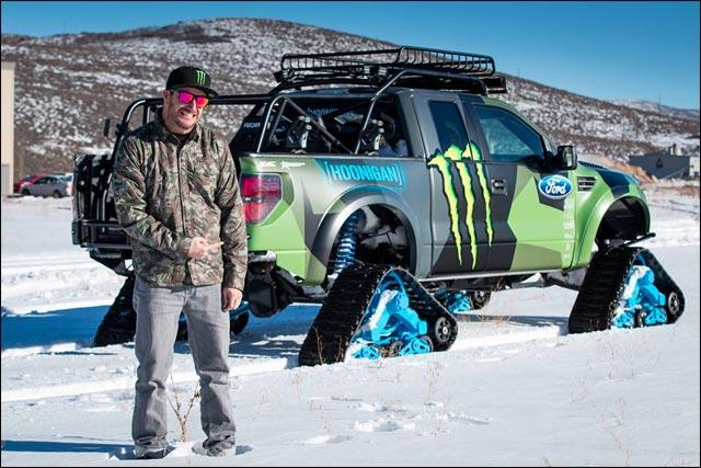 Ken Block 4x4 neige (4)