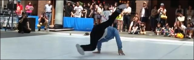 breakdance Japon gamin 10 ans