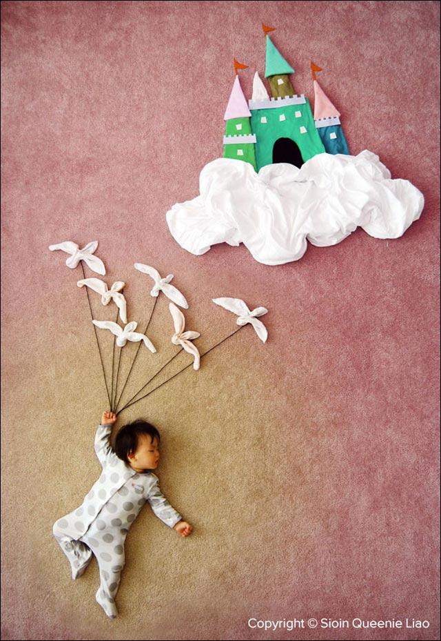 photo bebe reve dodo aventure sieste