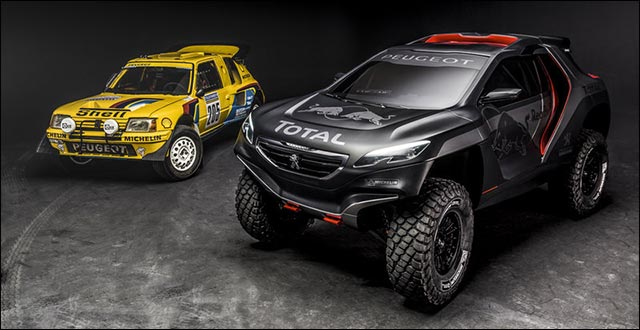 photo Peugeot 2008 DKR 2015 Red Bull