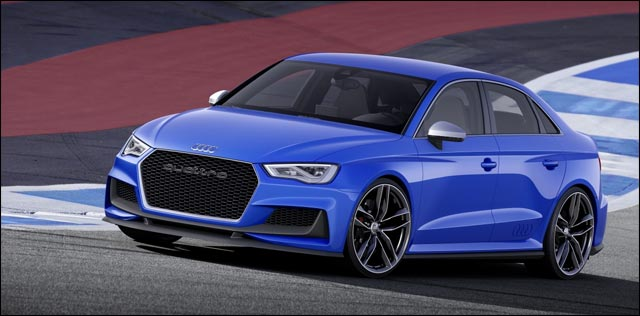photo video HD Audi A3 ClubSport Quattro Concept