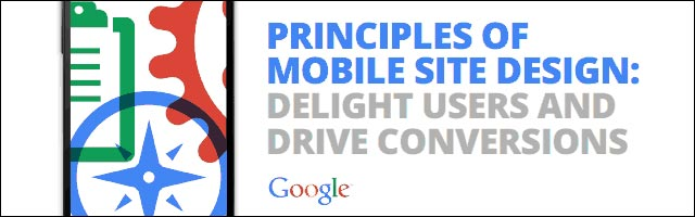 Google mobile webdesign