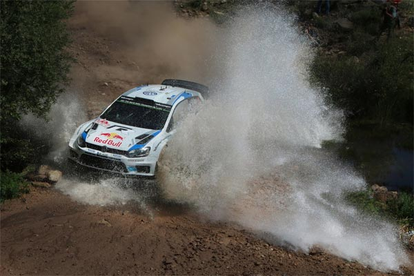 photo rallye WRC Italie 2014 Polo