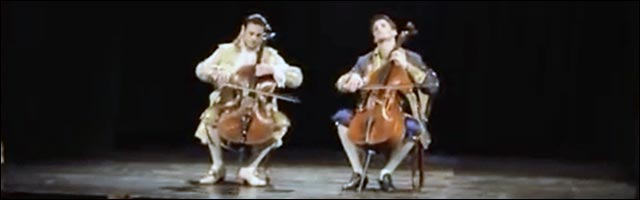 video 2cellos violoncelle ACDC Thunderstruck