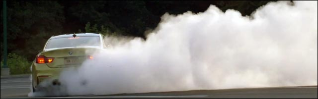 video drift BMW M4 M3 Motorsport