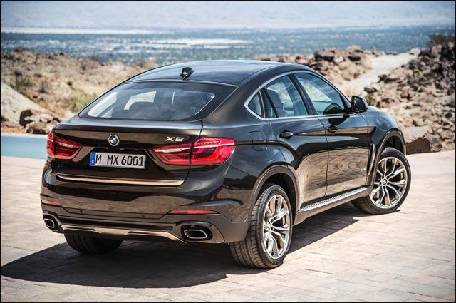 photo BMW X6 2015 arriere
