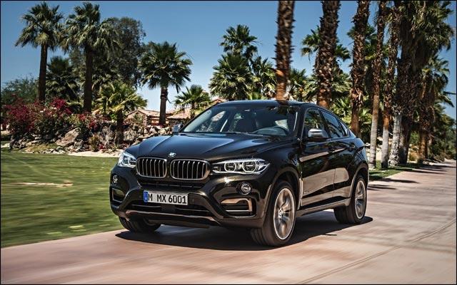 photo BMW X6 2015 avant