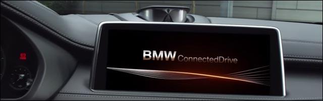 photo BMW X6 2015 ecran tactile GPS ConnectedDrive