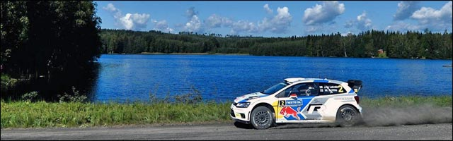 video hd Rallye Finlande WRC 2014
