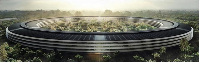 photo projet Apple Campus 2