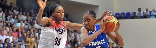 basket feminin photo France USA 2014