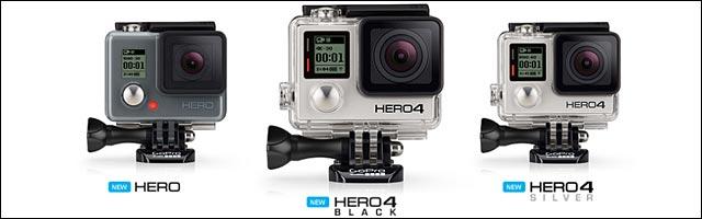 photo famille GoPro Hero 4 gamme 2015