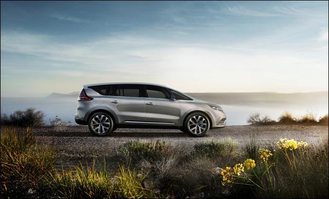 photo Renault Espace V 2015 profil