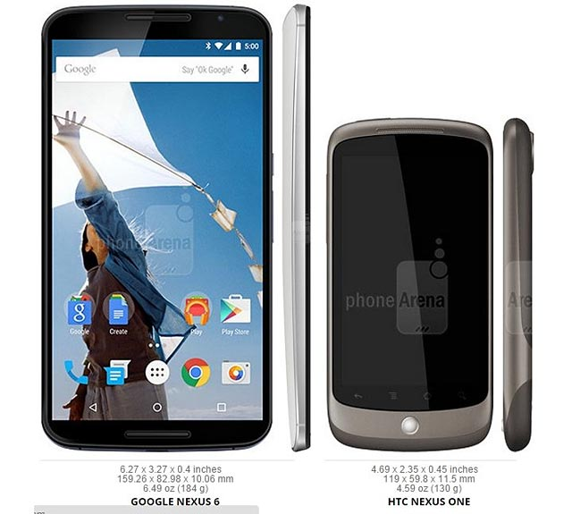 photo smartphone Google Nexus
