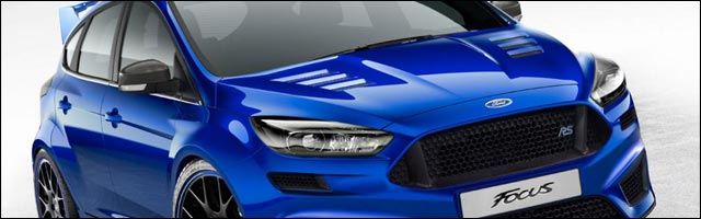 video photo Ford Focus RS 2015 2016