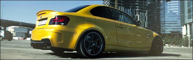 photo video BMW 140i coupe pack M
