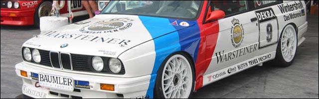 photo BMW M3 DTM E30