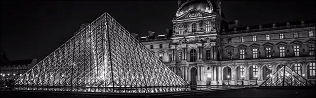 Paris video timelapse nuit by night