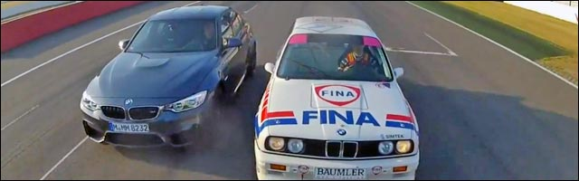 photo BMW M3 E30 DTM vs BMW M3 F80