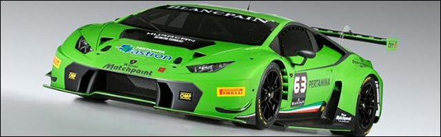 photo Lamborghini Huracan GT3 Race Car