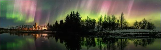 photo video aurore boreale islande