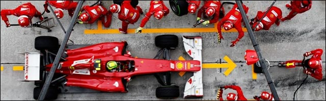 video arret pitstop F1 Formule 1