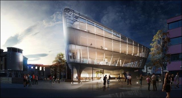 projet design skatepark 6 etages