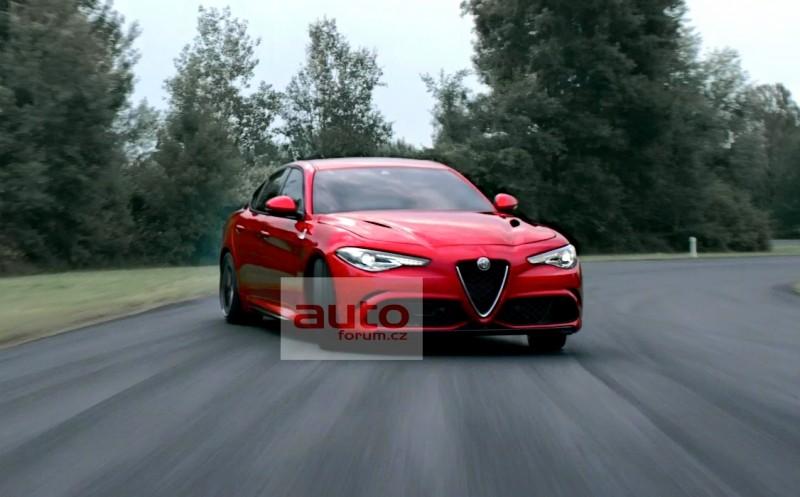photo Alfa Romeo Giulia QV Quadrifoglio Verde circuit
