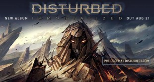 Disturbed Immortalized cover