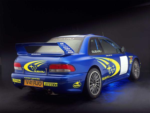 Subaru Impreza WRC 2000
